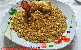 Risotto all'aragosta con tempura e bottarga – Oggi cucina…Emanuele