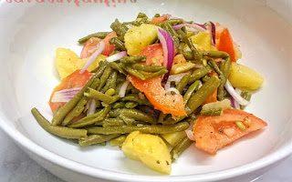 Insalata di patate, fagiolini e cipolla – Oggi cucina…Mariella