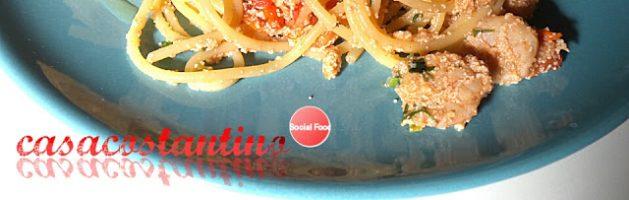 Spaghetti gamberi e uova di merluzzo – Oggi cucina…Samanta