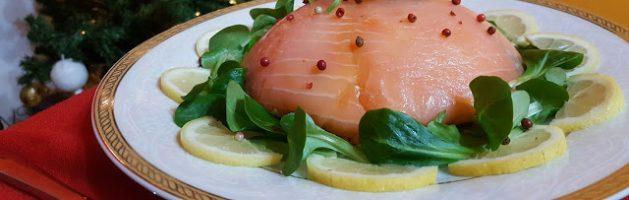 Zuccotto al salmone