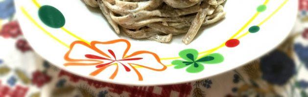 Linguine trafilate ai funghi porcini con panna e tartufo nero – Oggi cucina…Emanuele
