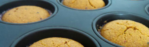 Muffin integrali alle carote e arancia