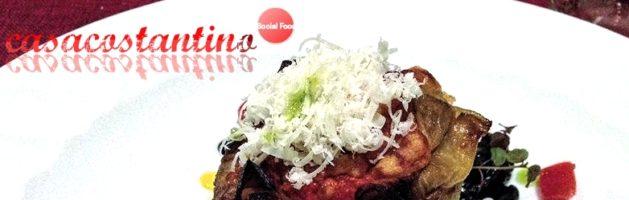 Parmigiana di pesce su ragù di seppie – Oggi cucina…Chef Ventimiglia
